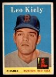 1958 Topps #204  Leo Kiely  Front Thumbnail