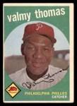 1959 Topps #235  Valmy Thomas  Front Thumbnail