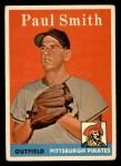 1958 Topps #269  Paul Smith  Front Thumbnail