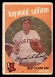 1959 Topps #416 DOT Haywood Sullivan  Front Thumbnail