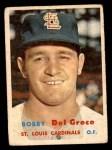 1957 Topps #94  Bobby Del Greco  Front Thumbnail