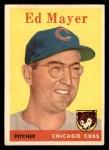 1958 Topps #461  Ed Mayer  Front Thumbnail