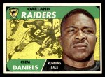 1968 Topps #90  Clem Daniels  Front Thumbnail