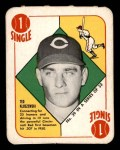 1951 Topps Red Back #39  Ted Kluszewski  Front Thumbnail