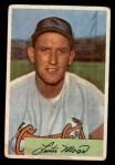 1954 Bowman #181  Les Moss  Front Thumbnail