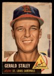 1953 Topps #56  Gerry Staley  Front Thumbnail
