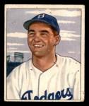 1950 Bowman #76  Rex Barney  Front Thumbnail