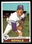 1979 Topps #218  Dennis Leonard  Front Thumbnail