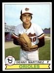1979 Topps #211  Dennis Martinez  Front Thumbnail