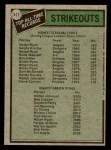 1979 Topps #417   -  Nolan Ryan / Walter Johnson All-Time Record Holders - Strikeouts Back Thumbnail
