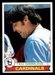 1979 Topps #510  Ted Simmons  Front Thumbnail