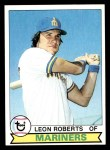 1979 Topps #166  Leon Roberts  Front Thumbnail