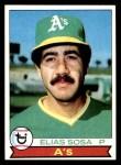 1979 Topps #78  Elias Sosa  Front Thumbnail