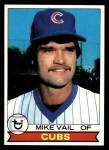 1979 Topps #663  Mike Vail  Front Thumbnail