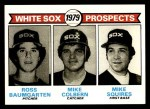 1979 Topps #704   -  Ross Baumgarten / Mike Colbern / Mike Squires White Sox Prospects   Front Thumbnail