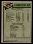 1979 Topps #418   -  Dutch Leonard / Walter Johnson All-Time Record Holders - ERA Back Thumbnail