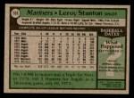 1979 Topps #533  Leroy Stanton  Back Thumbnail