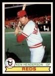 1979 Topps #73  Ken Henderson  Front Thumbnail
