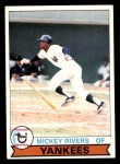1979 Topps #60  Mickey Rivers  Front Thumbnail