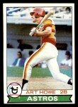 1979 Topps #327  Art Howe  Front Thumbnail