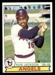 1979 Topps #339  Ron Jackson  Front Thumbnail