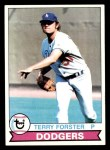 1979 Topps #23  Terry Forster  Front Thumbnail