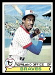 1979 Topps #132  Rowland Office  Front Thumbnail