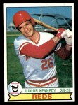 1979 Topps #501  Junior Kennedy  Front Thumbnail