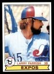 1979 Topps #677  Larry Parrish  Front Thumbnail