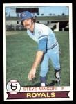 1979 Topps #72  Steve Mingori  Front Thumbnail