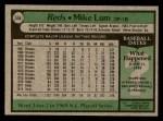 1979 Topps #556  Mike Lum  Back Thumbnail