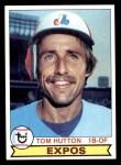 1979 Topps #673  Tom Hutton  Front Thumbnail