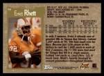 1996 Topps #90  Errict Rhett  Back Thumbnail