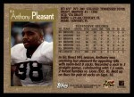 1996 Topps #84  Anthony Pleasant  Back Thumbnail
