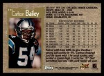 1996 Topps #196  Carlton Bailey  Back Thumbnail