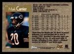 1996 Topps #73  Mark Carrier  Back Thumbnail