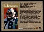 1996 Topps #78  Blake Brockermeyer  Back Thumbnail