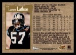 1996 Topps #154  Lamar Lathon  Back Thumbnail