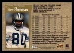 1996 Topps #11  Brett Perriman  Back Thumbnail