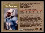 1996 Topps #202  Chris Sanders  Back Thumbnail
