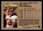 1996 Topps #175  Derrick Thomas  Back Thumbnail