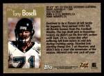 1996 Topps #215  Tony Boselli  Back Thumbnail