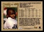 1996 Topps #26  Michael Jackson  Back Thumbnail