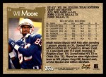 1996 Topps #54  Will Moore  Back Thumbnail