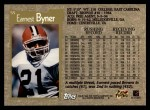 1996 Topps #55  Earnest Byner  Back Thumbnail