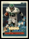 1996 Topps #126   -  Ricky Watters 1000 Yard Club Front Thumbnail