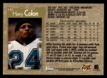 1996 Topps #149  Harry Colon  Back Thumbnail