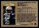 1996 Topps #104  Carlton Gray  Back Thumbnail