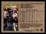 1996 Topps #161  Jessie Tuggle  Back Thumbnail