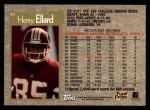 1996 Topps #82  Henry Ellard  Back Thumbnail